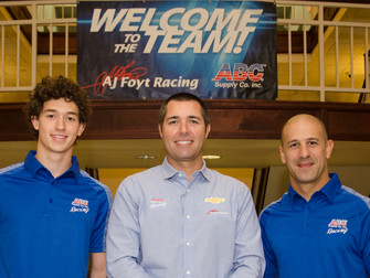 A.J. Foyt Hires Matheus Leist to drive the No. 4 ABC Supply Chevrolet in the Verizon IndyCar Series