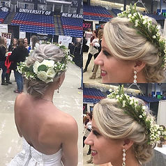 #weddingmakeup #weddinghairstyle #hairda