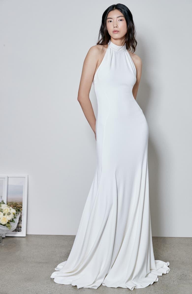 Stella McCartney Magnolia wedding gown L