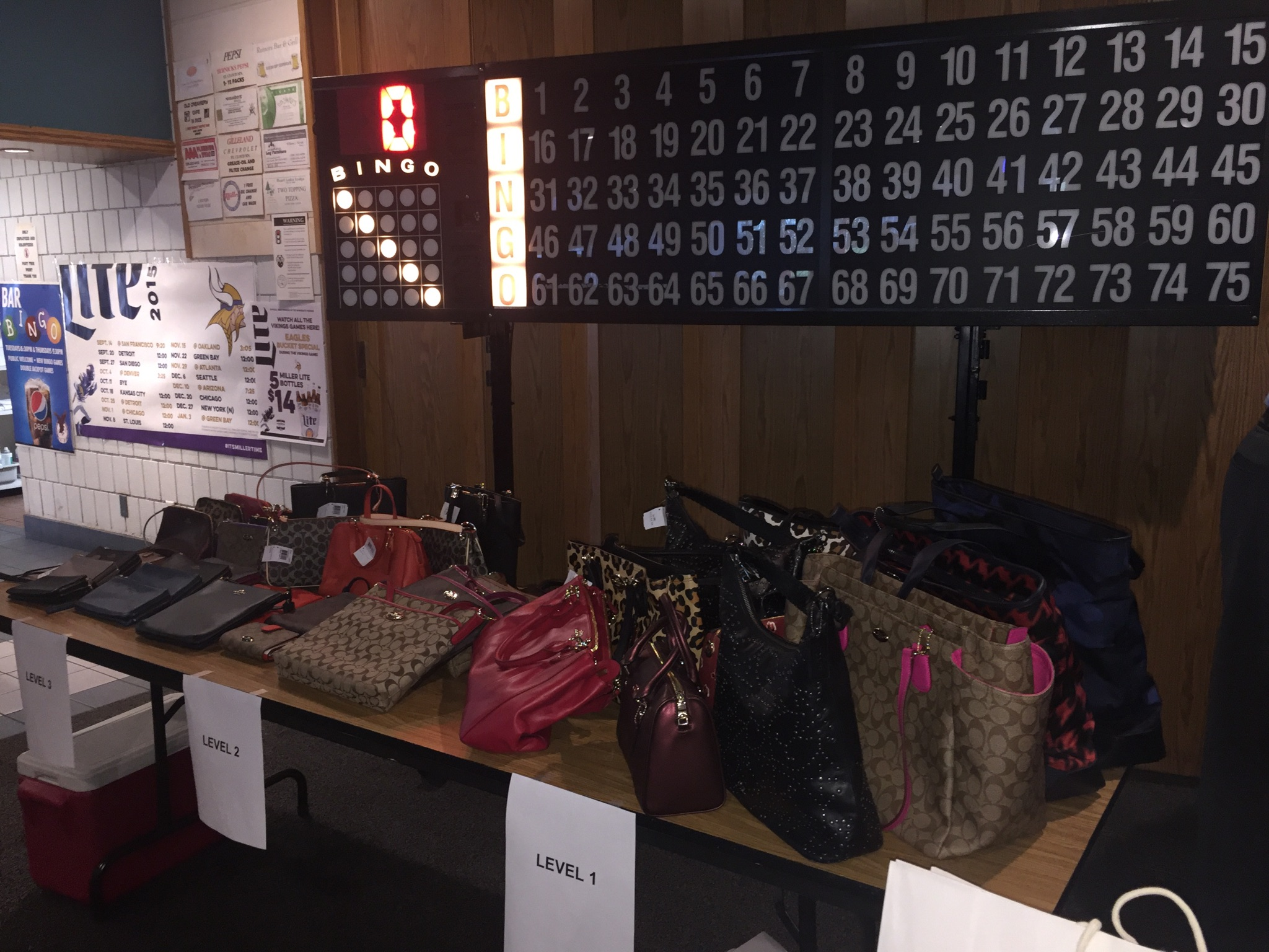 Coach Purse Bingo