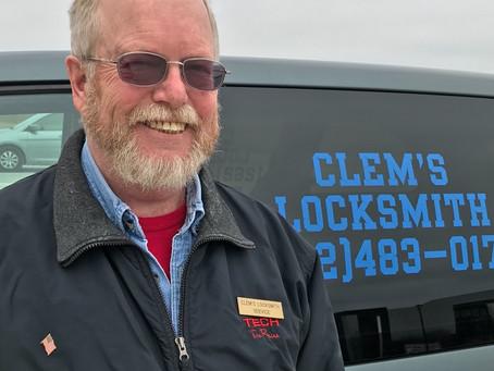 April Member Spotlight on Clem Gottsacker of Clem's Locksmith