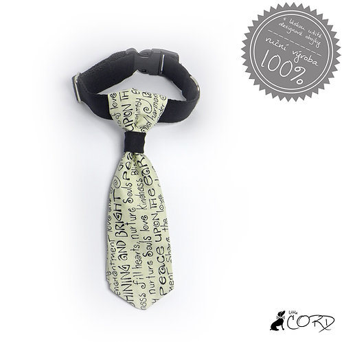VÝPRODEJ TEXT - kravata