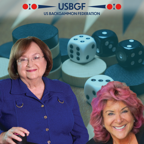 Women in Backgammon Celebrate the Two Women Being Honored by the U.S. Backgammon Federation