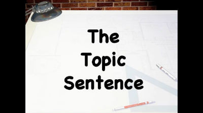 Social Media and the Topic Sentence