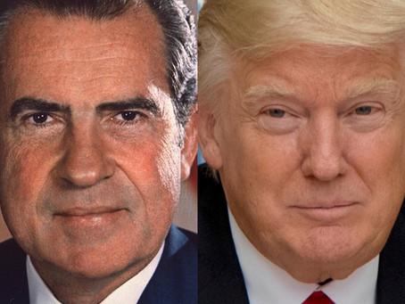 No Cause for Celebration: Trump & Nixon