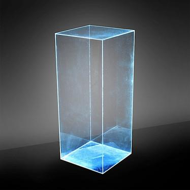 Plexiglass Pedestal