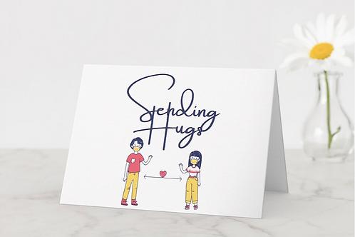 """Sending Hugs"" Card"