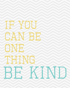Be Kind: I'm Over It