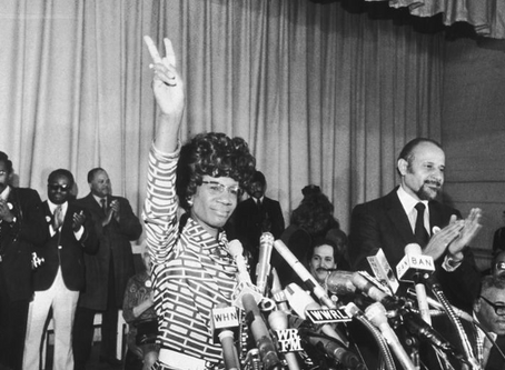 The Women in History: Shirley Chisholm