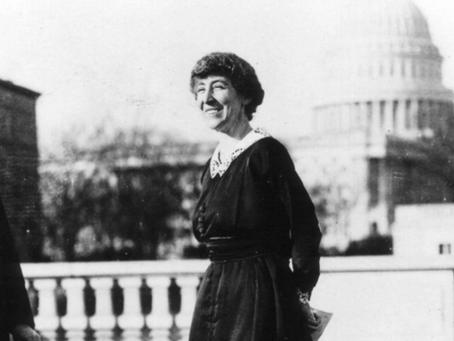 Women in History: Jeannette Pickering Rankin