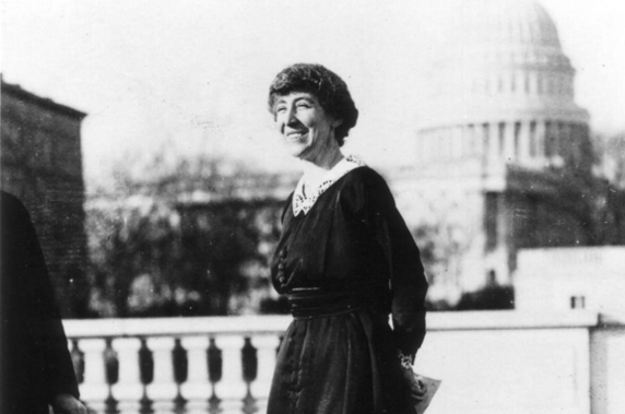 Women in History: Jeannette Pickering Rankin