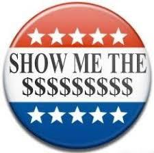 Show Me the Money? Democrat Fundraising Soaking Me Dry