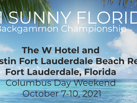Women in Backgammon Prize Money in Sunny Florida Tournament