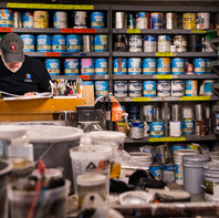 Brian Longsworth – Scenic Art Paint Shop Foreman