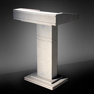 Linear Gray Podium