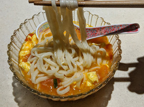 Egg and Tomato Noodle Soup