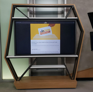 KXAS TV Stand