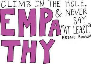 Empathy Versus Sympathy: Who Knew