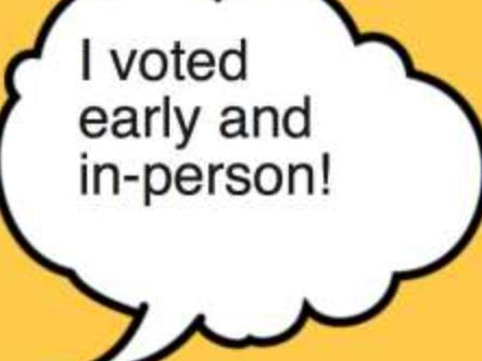 I Surmise: It's Not Enough To Just Vote