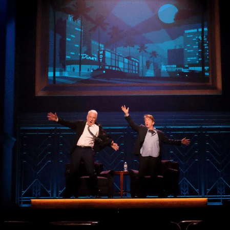 Steve Martin and Martin Short: An Evening You Will Forget For the Rest of Your Life  Production Design: Tom Lenz for 513 Associate Production Designer: Mel Lovric Photo Credit: Mel Lovric