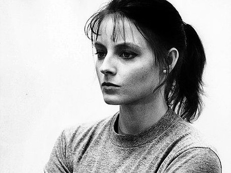 Jodie Foster and Clarice from The Silence of the Lambs