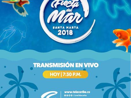Comunicado 46: Hoy se viven las Fiestas del Mar por Telecaribe.