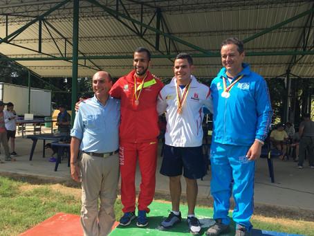 Kevin Donado obtiene oro en Nacional de Tiro
