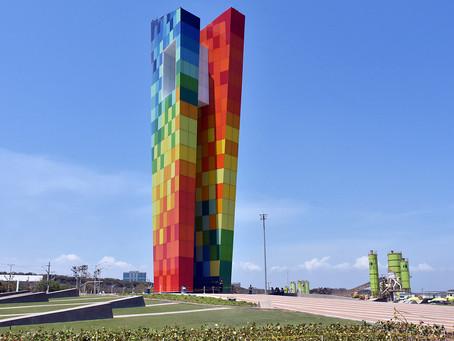 El monumento que tiene fascinados a los barranquilleros