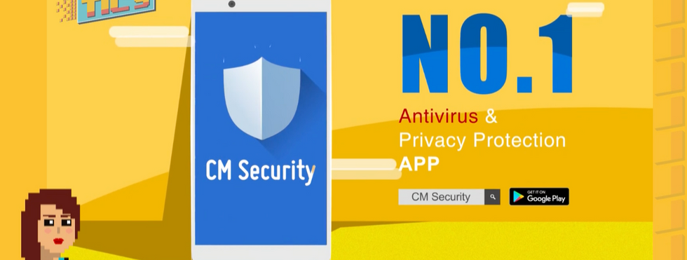 CM Security and Find My Phone (Cleanmaster)