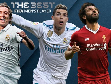 Modric, Cristiano y Salah, nominados al premio 'The Best' de la FIFA
