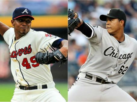 Dos lanzadores colombianos cerca de la postemporada en la MLB