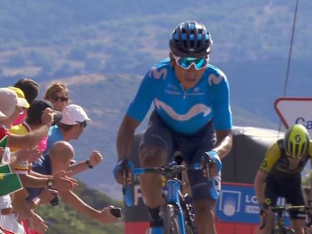 Nairo ascendió al tercer lugar de La Vuelta a España