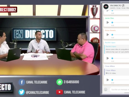 Comunicado 67: En Directo, la nueva apuesta de Telecaribe Deportes