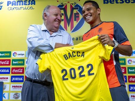 Carlos Bacca fue comprado por el Villarreal de España y firmó hasta el 2022