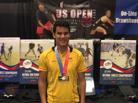 El Racquetball de alto nivel vuelve a Barranquilla