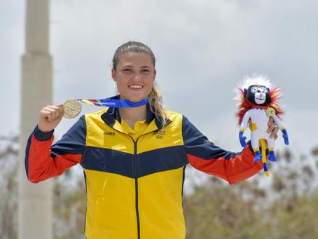 Gabriela Bolle es la nueva número 1 del ranking junior de BMX