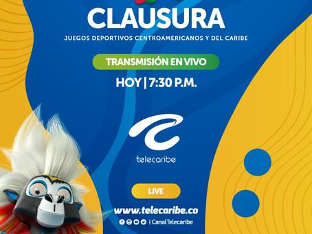 Comunicado 48: La clausura de los Centroamericanos se vive por Telecaribe