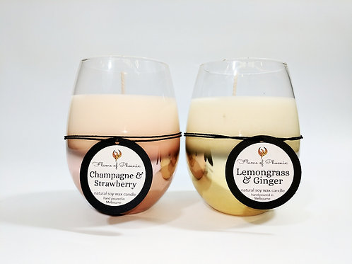 Ombre Stemless Glass