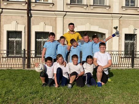 Футбольный матч воспитанников Приходской школы