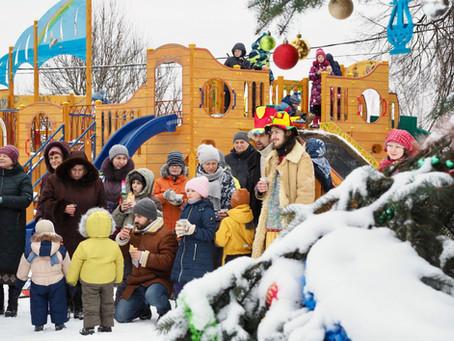 """Детский православный зимний лагерь """"Витязь"""" - отчет и фото"""