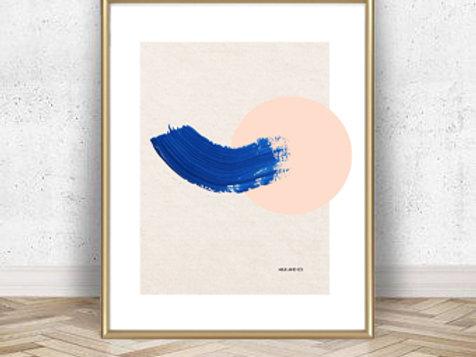 Peach Nectar Art Print