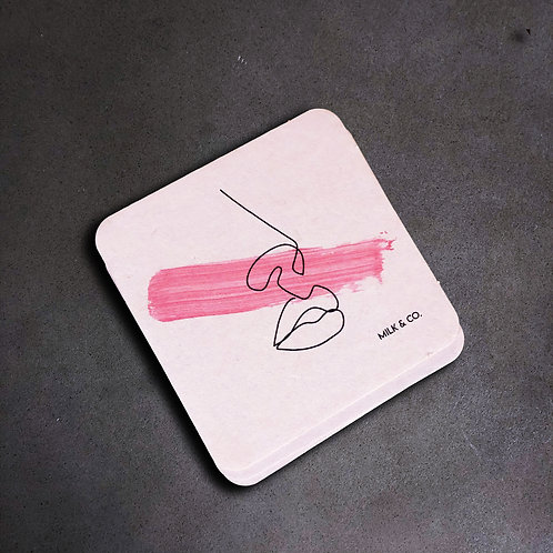 Think Pink Coaster Set
