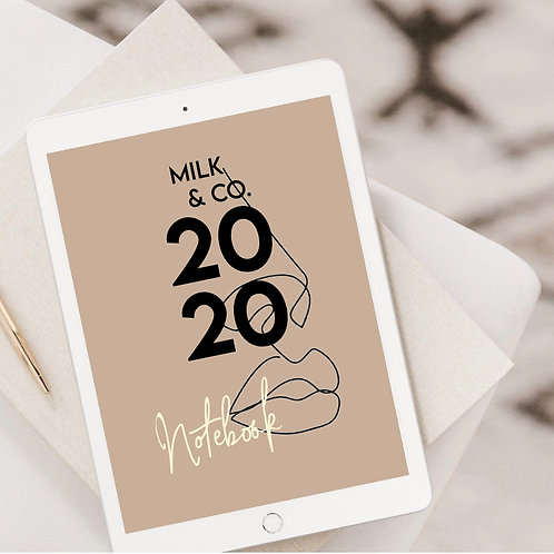 Milk & CO. DIGITAL NOTEBOOK