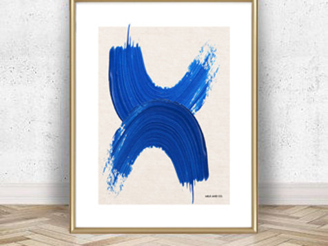 Art & Bluez Art Print