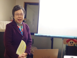 【きょうとグリーンファンドとまちに「おひさま発電所」をつくろう!】~大西啓子さん講演会~を開催しました