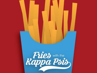 Beta Sigma is hosting its second-annual 'Fries with the Kappa Psis' Fundraiser!