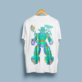 PART A - T-Shirt Mock-Up Back - Strange