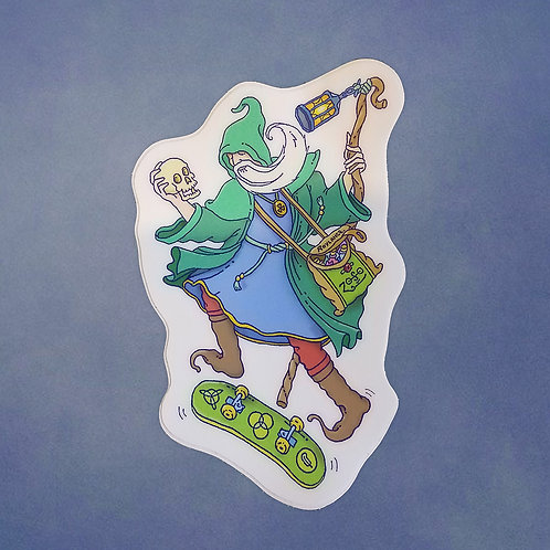 Radical Hermit - Sticker