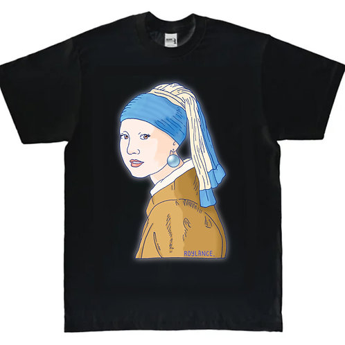 'Girl with a Pearl Earring' T-shirt