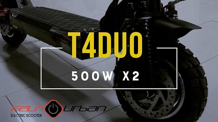 T4 ZRino DUO  10″ 1000W